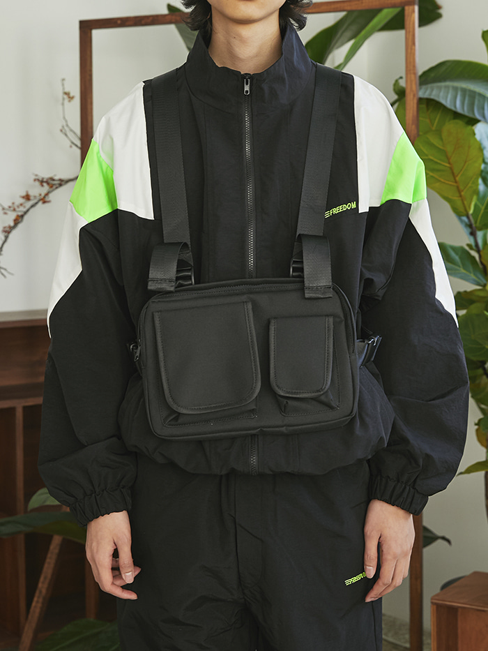 techwear chest bag