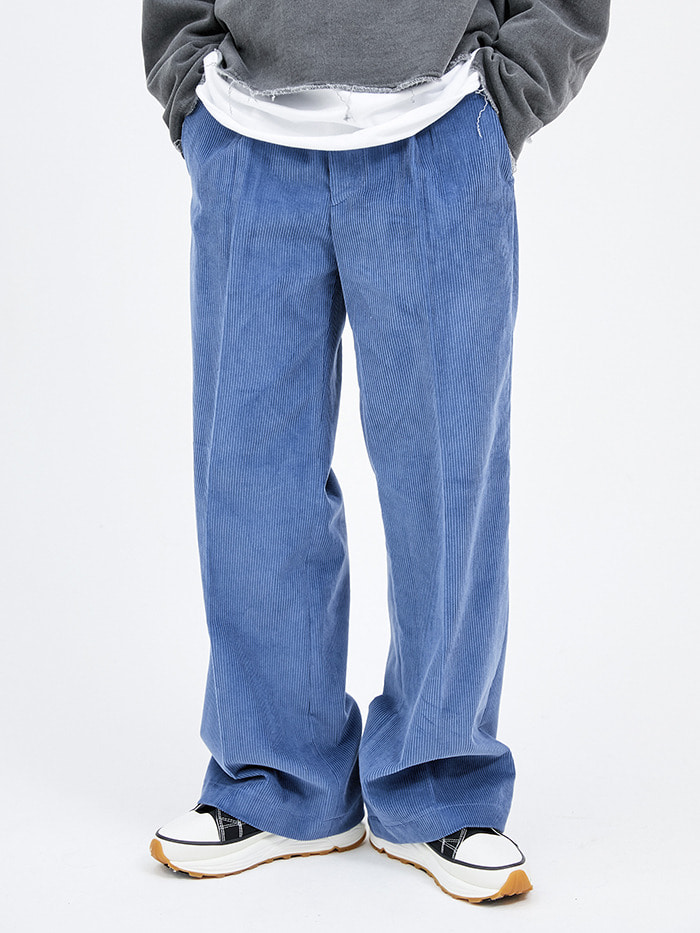 corduroy flare-fit pants (3 color) - men