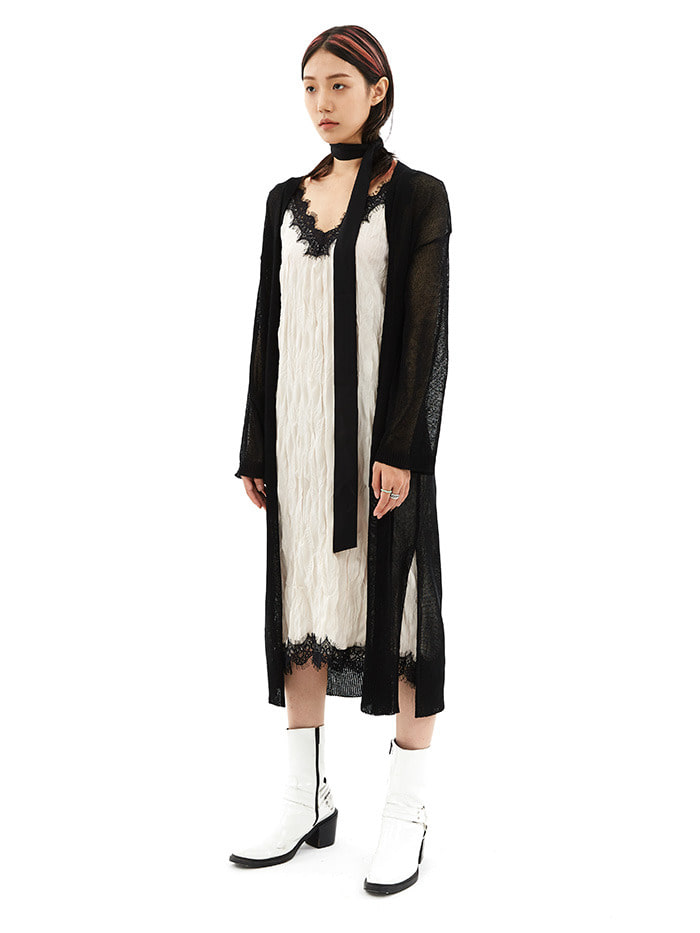 casari long cardigan (3 color)
