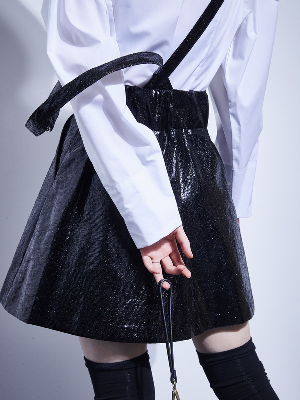 cosmos suspenders skirt