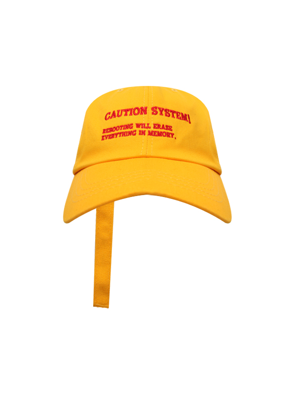 system ring strap ballcap (6 color) - UNISEX