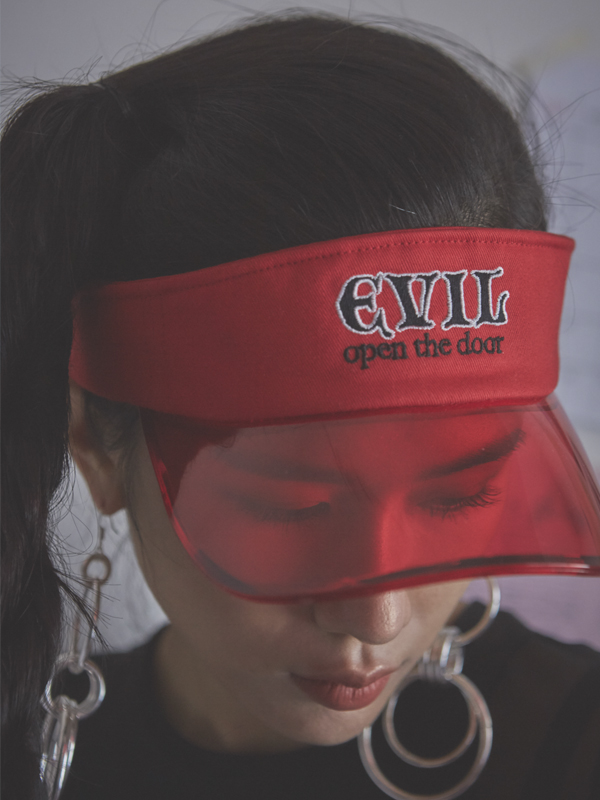 PROJECT - EVIL SUN CAP (RED)