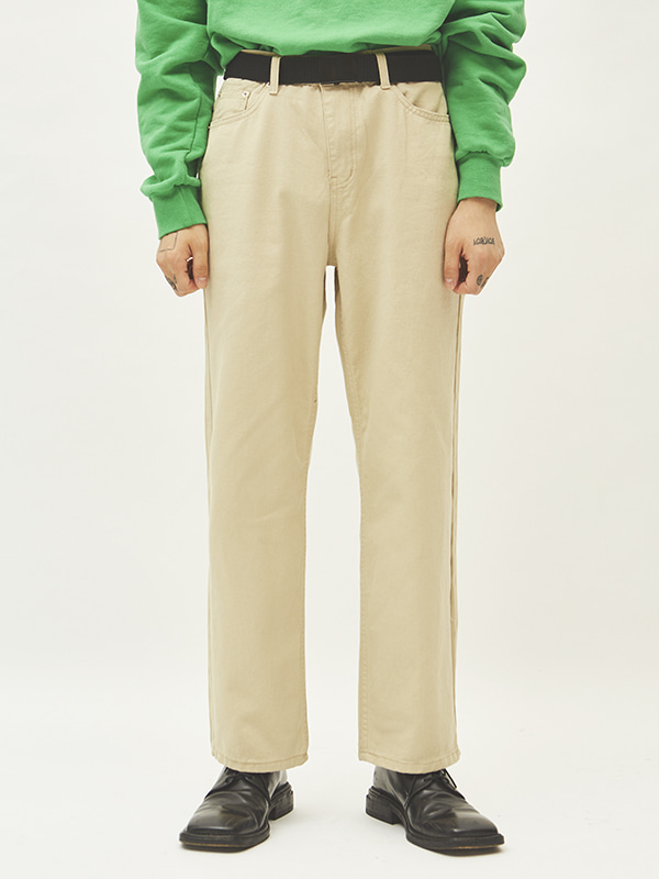 cotton straight pants (2 color) - UNISEX