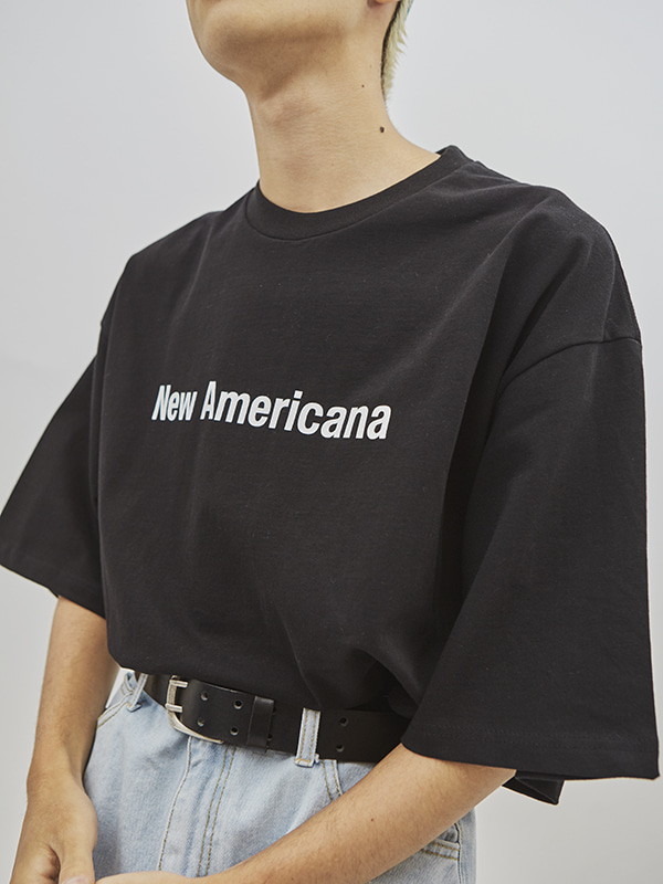 new americana 1/2 T (3 color) - UNISEX