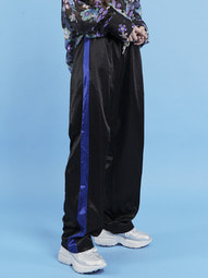 silky side line pants (2 color) - UNISEX