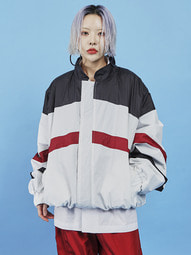 double faced windbreaker (2 color) - UNISEX